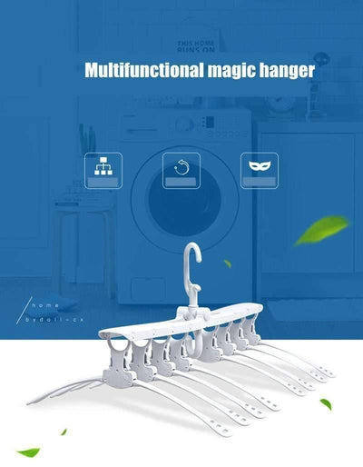 Magic Multi-Layer Foldable Clothes Rack