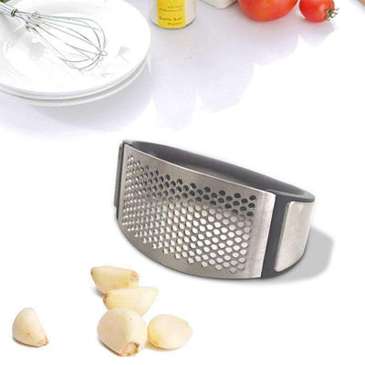 Professional Stainless Steel Garlic Presser