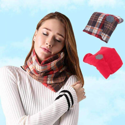 TRAVANA Travel Neck Support Scarf Pillow