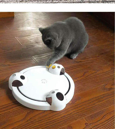 P'BLISS Endless Running Mouse Amusement Plate for Cat