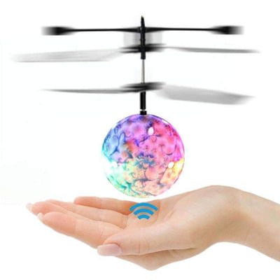 Flashing LED Flying Ball