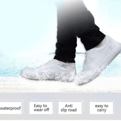 Reusable Waterproof Non-Slip Shoe Covers