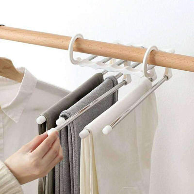 5-in-1 Stainless Steel Trousers Hanger