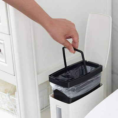 Toilet Brush Rubbish Bin