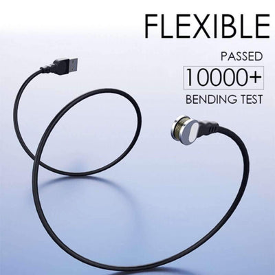 180° Magnetic Ring Quick Charging Cable