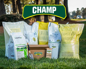 Lawn Coach Champ Fertilizer Subscription for Bermuda, Zoysia, and Tall Fescue lawns from Super-Sod