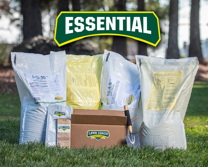 Lawn Coach Essential Fertilizer Subscription for Bermuda, Zoysia, and Tall Fescue lawns from Super-Sod