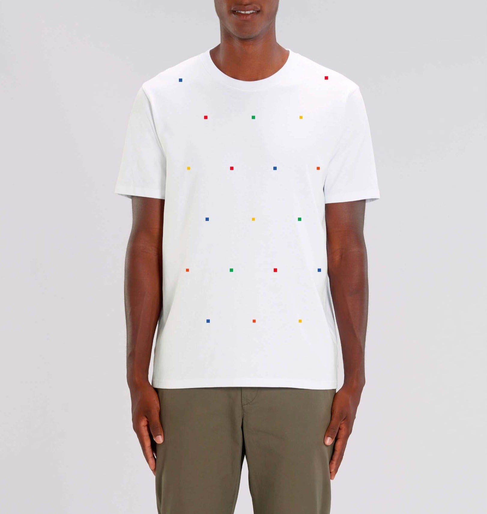 Rubiks White T-Shirt