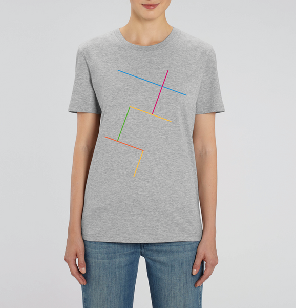 Stacked Heather Gray T-Shirt