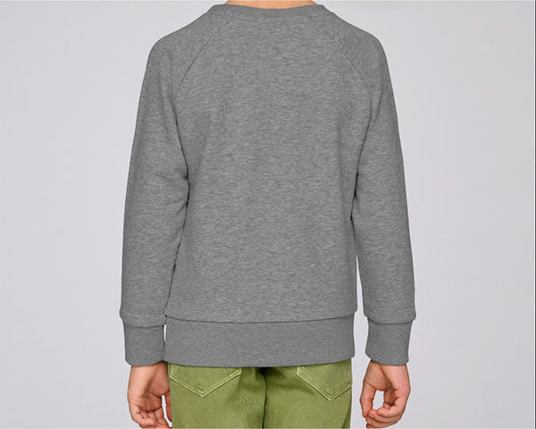 Kids Blocks Sweatshirt Heather Gray
