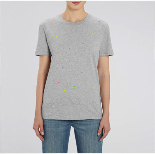 Fluoro Heather Gray T-Shirt