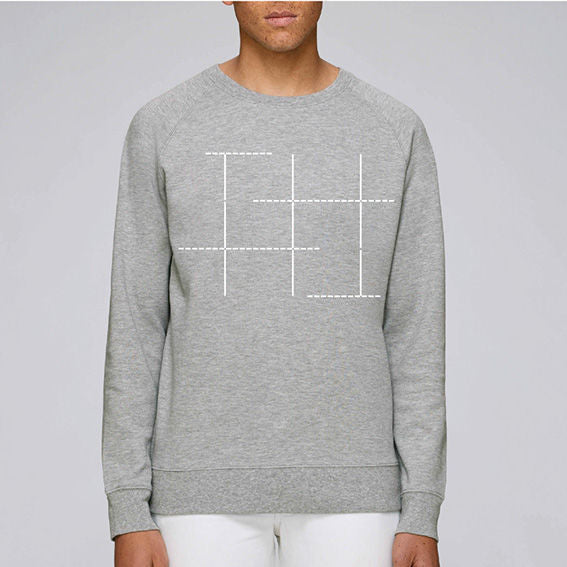 Construction Gray Sweatshirt
