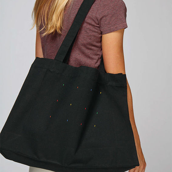 Windows Black Tote Bag