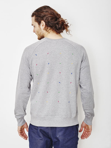 Algorithm Heather Gray Sweatshirt
