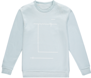 Location Powder Blue Sweatshirt