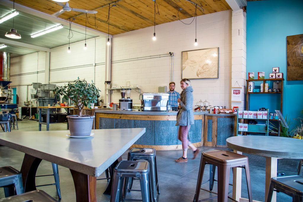 Tasting Room | Ruby Coffee Roasters