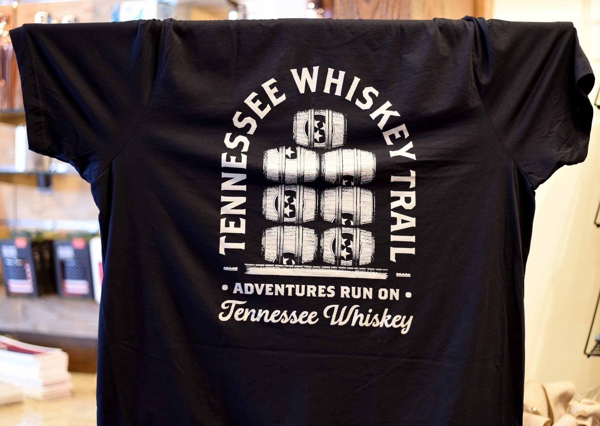 TN Whiskey Trail Barrels Shirt