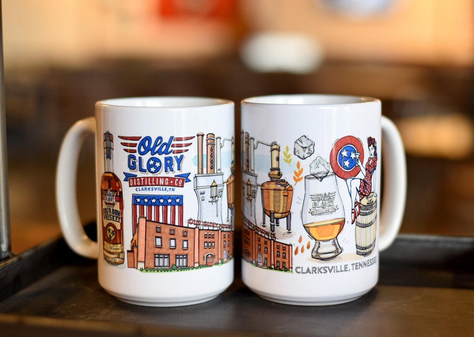 Old Glory Icons Coffee Mug