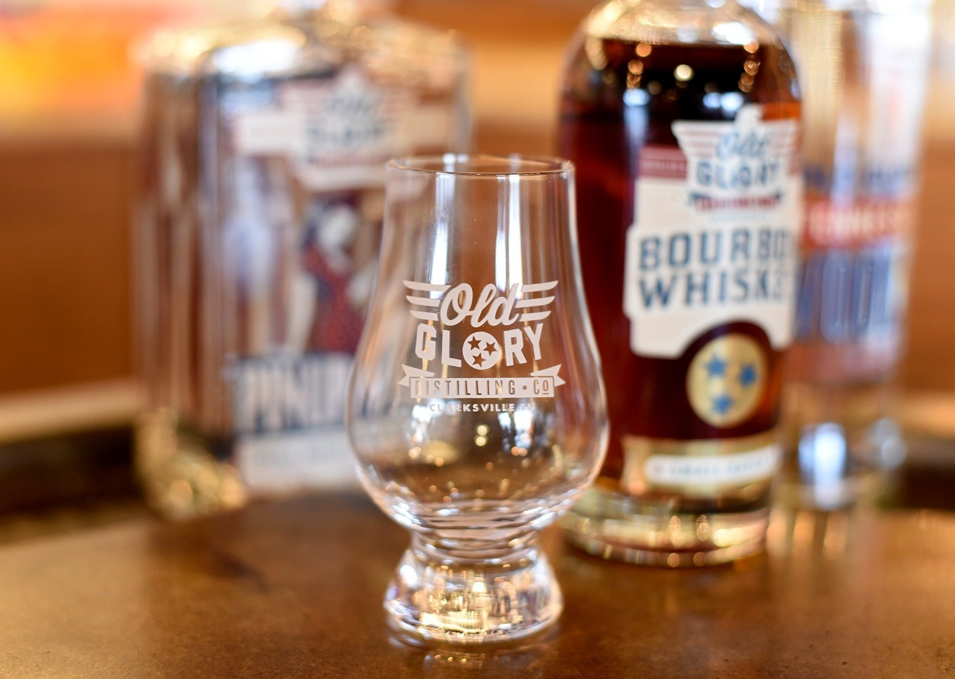 Old Glory Glencairn Glass