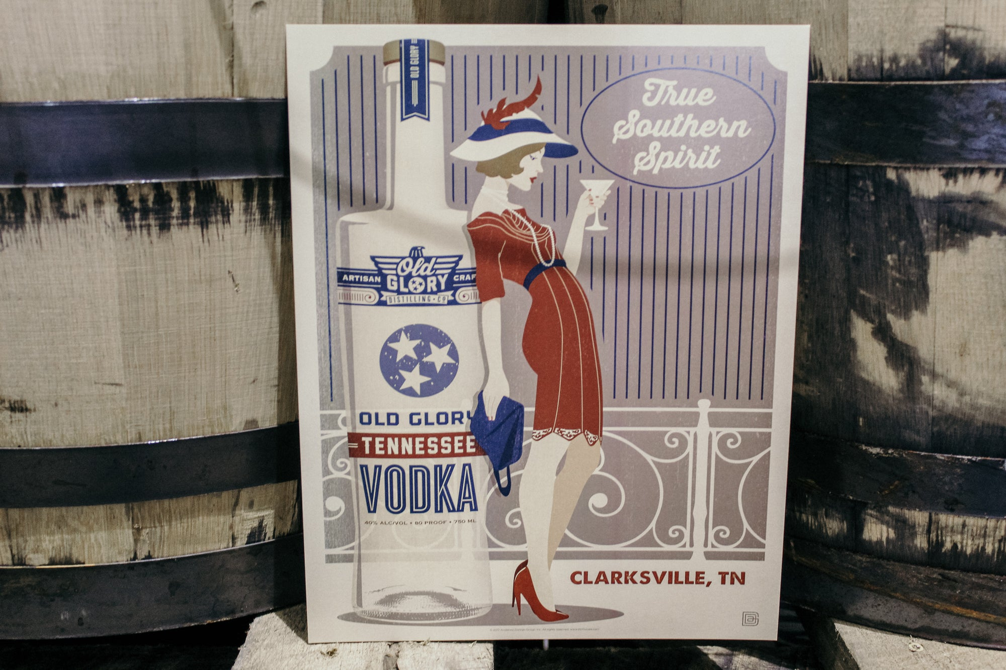 Vodka Girl Poster