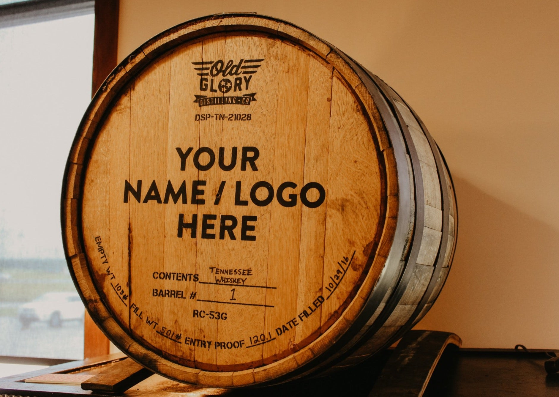 Old Glory Whiskey Barrel Sponsorship