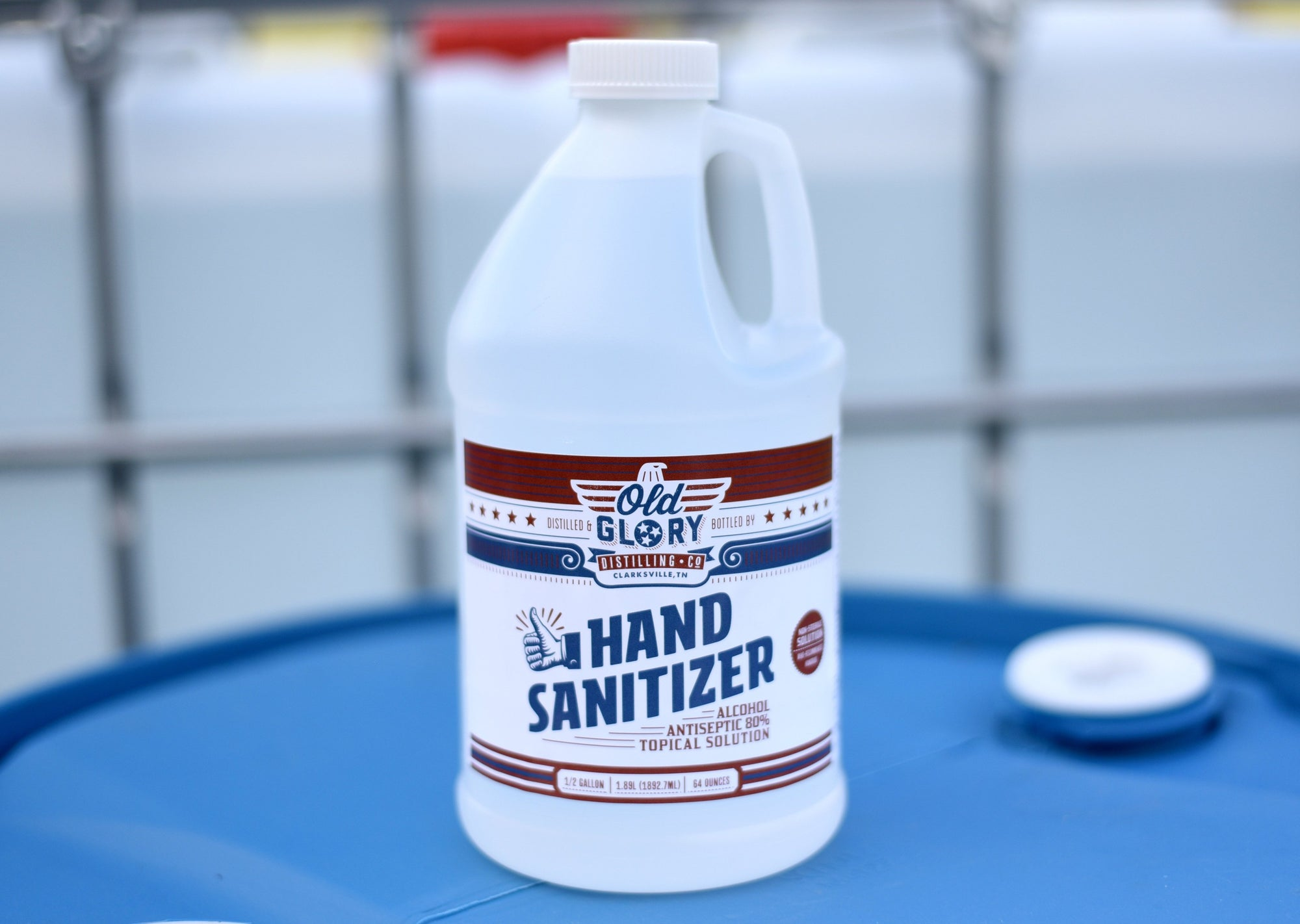 Old Glory 64oz Hand Sanitizer