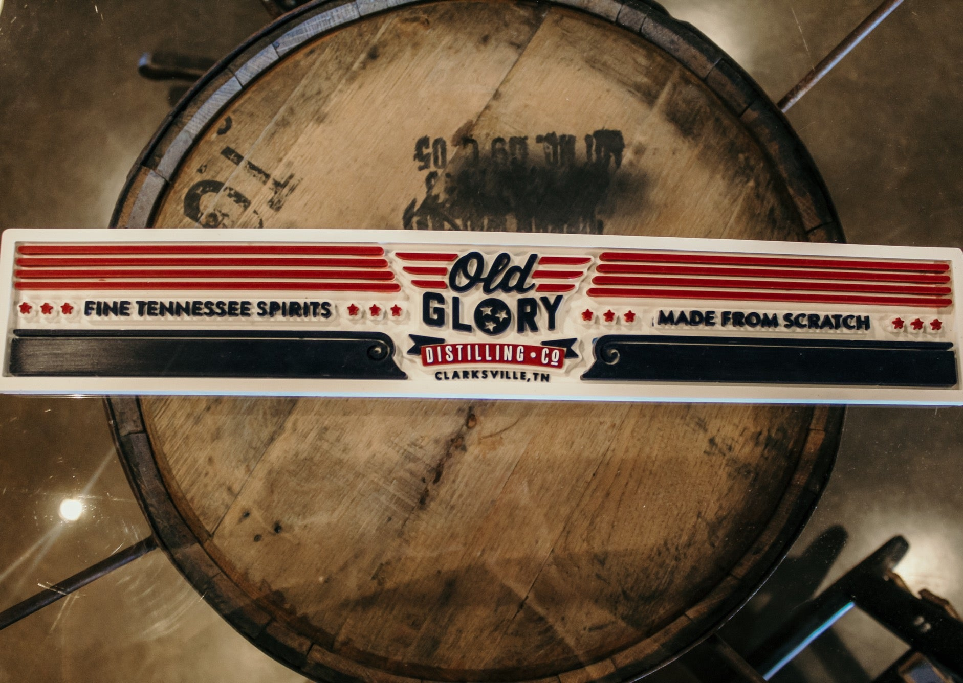Old Glory Distilling Co. Bar Mat