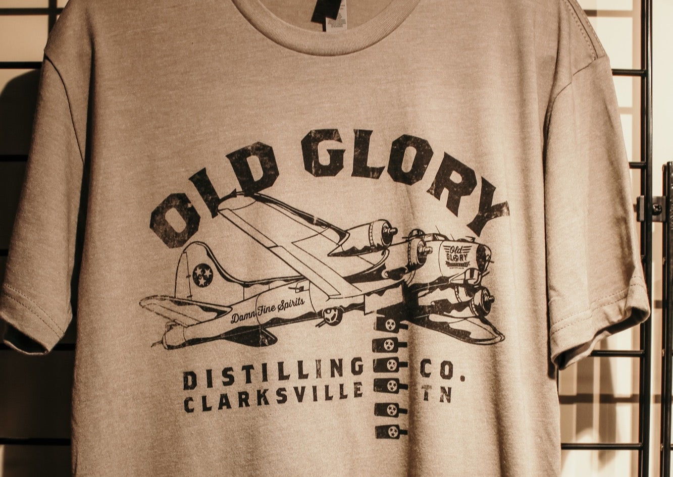 Old Glory Bomber T-Shirt