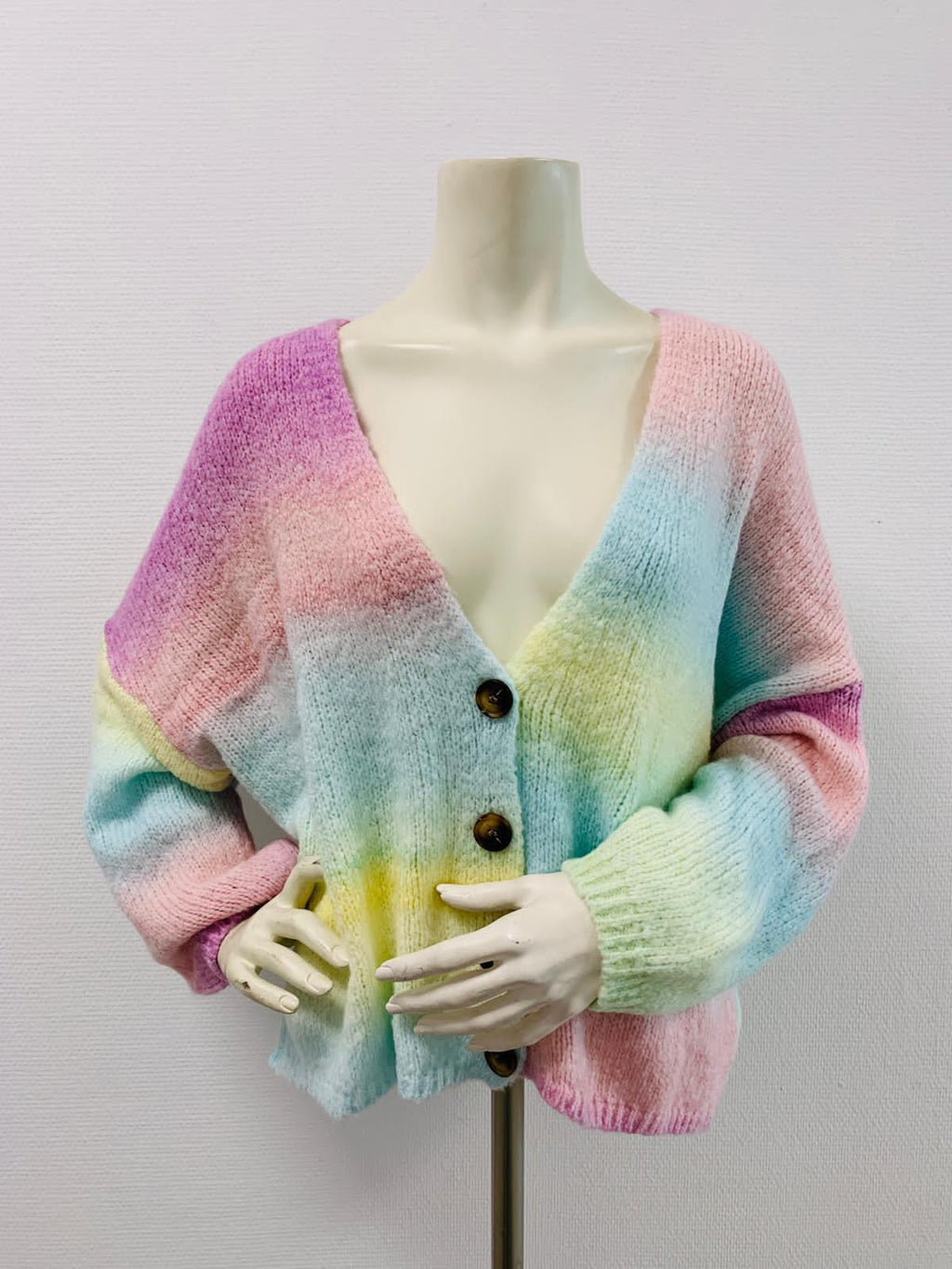 Strickjacke RAINBOW