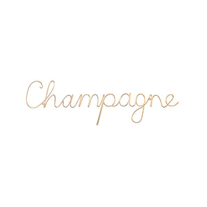 CHAMPAGNE Wand Message