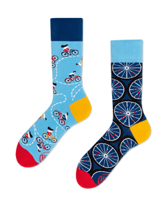 MANY MORNINGS The Bicycle Socken