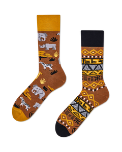 MANY MORNINGS Safari Trip Socken