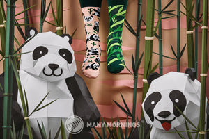 MANY MORNINGS Sweet Panda