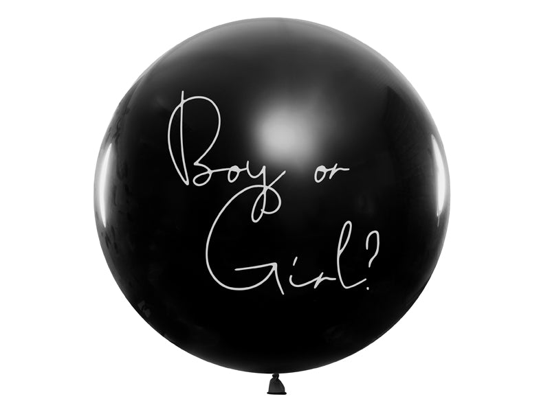Gender Reveal Luftballon GIRL oder BOY