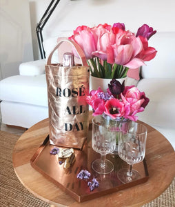 "Wine Bag ""ROSÉ  ALL DAY"""