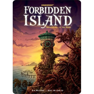 FORBIDDEN ISLAND TIN