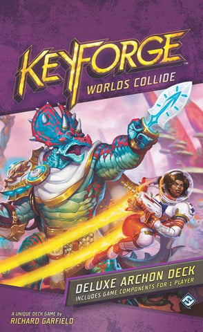 KEYFORGE:WORLDS COLLIDE DELUXE DECK