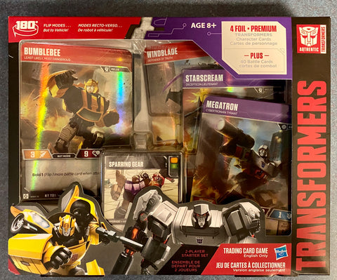 Transformers Trading Card Game - Bumblebee vs Megatron - Starter set