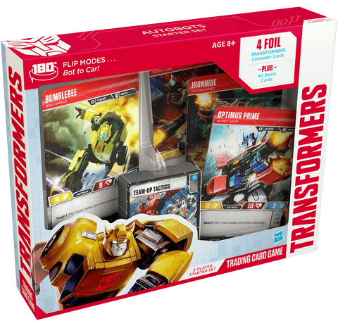 Transformers Trading Card Game - Autobots Starter Set