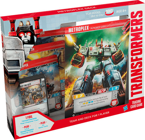 Transformers Trading Card Game - Metroplex Deck