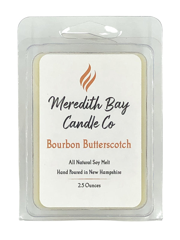 Bourbon Butterscotch Wax Melt Wax Melt Meredith Bay Candle Co