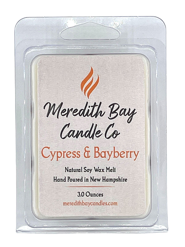 Cypress and Bayberry Wax Melt Wax Melt Meredith Bay Candle Co