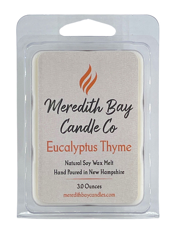 Eucalyptus Thyme Wax Melt Wax Melt Meredith Bay Candle Co