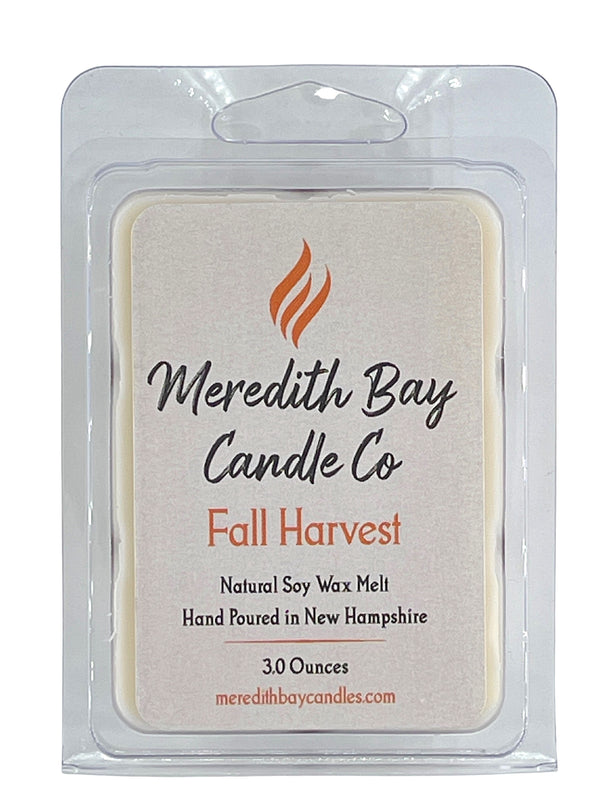 Fall Harvest Wax Melt Wax Melt Meredith Bay Candle Co
