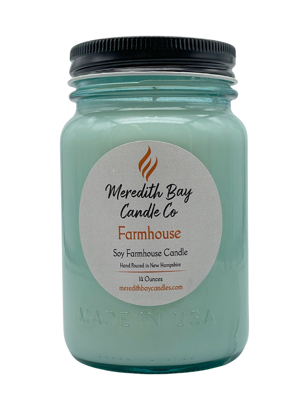 Farmhouse Soy Candle Soy Candle Meredith Bay Candle Co