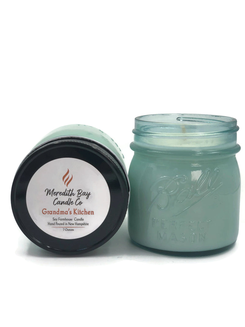 Grandma's Kitchen Soy Candle Soy Candle Meredith Bay Candle Co 8.0 Oz Jar