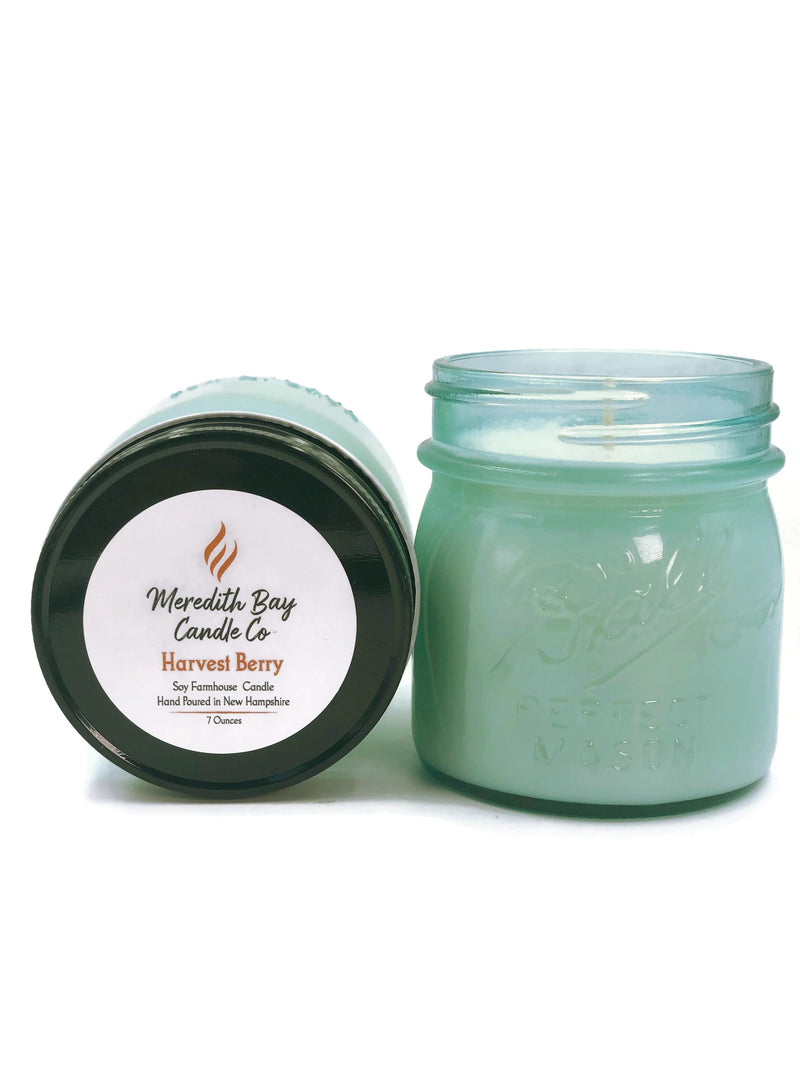 Harvest Berry Soy Candle Soy Candle Meredith Bay Candle Co 8.0 Oz Jar