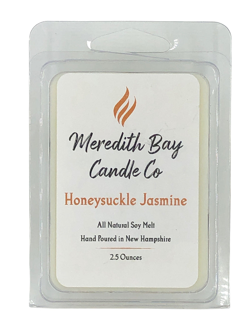 Honeysuckle Jasmine Wax Melt Wax Melt Meredith Bay Candle Co