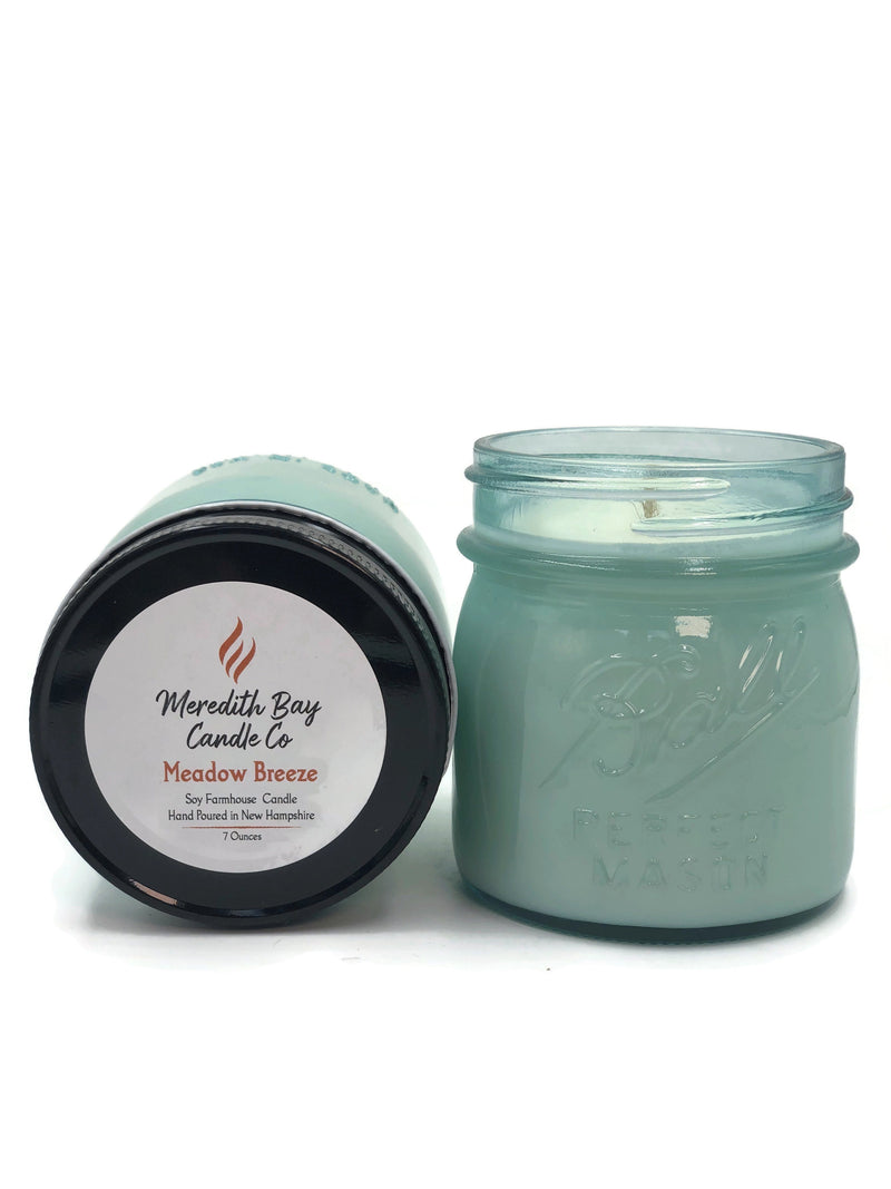 Meadow Breeze Soy Candle Soy Candle Meredith Bay Candle Co 8.0 Oz Jar