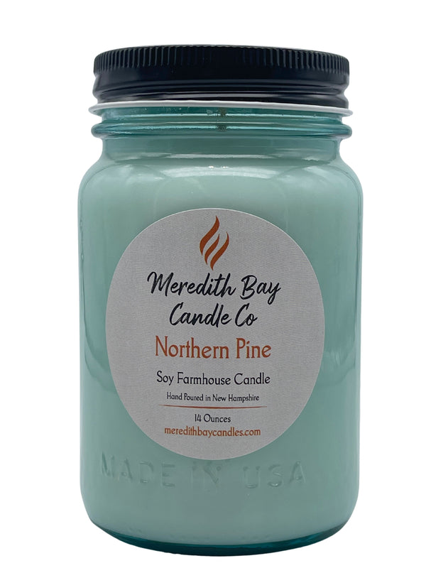 Northern Pine Soy Candle Soy Candle Meredith Bay Candle Co